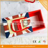 DW-PB1506British style folding gift packaging box                                                                                                         Supplier's Choice