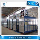 Single/Double Cage Material Electric Elevator Construction Lifting Equipment Hoisting Material Lifter
