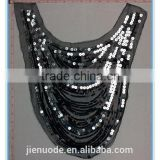 2015 JND Novel Decoractive Sequins and Seed Beads Collar for Trimming