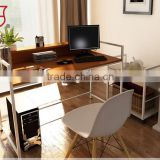2015 high quality computer table/wooden computer table design/latest design computer table
