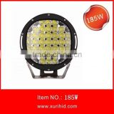 Hot SALE ARB Style Round Black/ Red High Lumen 225W 185W 9 inch LED Driving light for ATV, UTV, SUV, BOATS