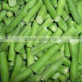 frozen vegetables in a hot sale and IQF frozen green beans cut