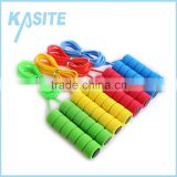 Adult PVC workout 2.7M rope skipping with single color handle foam