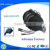 Factory direct selling multifunction car combo antenna tri-band GPS WIFI 3G antenna