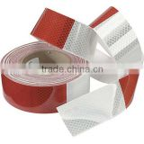 red and white 3m quality diamond grade vehicle safety warning reflective tapes