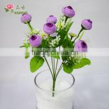 Latest arrival hot buy 7 heads rose tea for home/wedding decoration