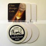 Promotional custom beer coasters set with logo