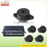 Hot sale 4 Sensors System 12v No Display Car Reverse Parking Sensor/ Electronic Buzzer System/ Warning Reverse Buzzer
