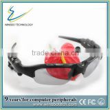 Flash player bluetooth-glasses , bluetooth earphone Mp3 sunglasses
