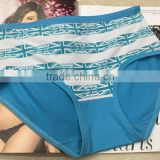 special bright colorful British Flag pattern large size underwear for female