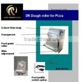 stainless steel bread dough pressing/ rolling machine for pizza shop, cake shop / bakery