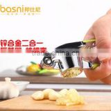 basni home peeling garlic garlic press garlic ginger garlic zinc alloy electroplating kitchen gadgets