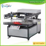 Factory selling flat screen printing machien with vacuum working table