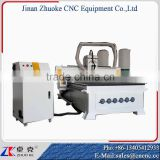 China Mach3 Controller Woodworking CNC Router Machine ZKM-1325 1300*2500 With 6KW Italy HSD Air Cooling Spindle