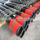"API 5CT seamless steel oil tubing/ J55 K55 N80 L80 tubing/ 1.05"" ~ 4.5"" seamless threaded & coupled tubing"