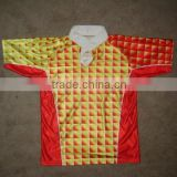 China manufacturer Full sublimated print Custom flag football jerseys