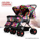 Hot Selling Good Twins Baby Stroller Factory Price Baby Carrier with European Standard