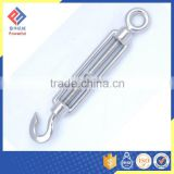 Stainless Steel Sus 316 DIN 1480 Open Body Rigging Screw with Eye and Eye