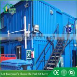 prefab container carport steel frame public toilet shower room