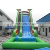 Best quality largest inflatable water slide/inflatable city slidel/inflatable slide with pool
