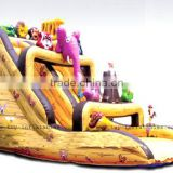 Classic design cheap inflatable noah's ark slide