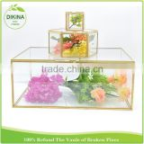 bridal shower gifts for guests _ Custom Color - Mini Frame Figurine , Miniature glass display jewelry clear acrylic storage box