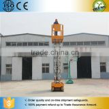 electric auto drive roadway lamp / roof / external walls man use self propelled scissor lift
