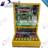 Morocco mini casino game machine with africa music Coin Operated Gamble Mini Arcade Games Fruit Casino Slot Machine