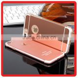 Top Selling electroplating ultra-thin soft shell tpu Mirror cell phone cover for iphone 6 6S 7 PLUS case