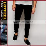men's jeans black jeans Distressed denim man jeans pant brand jeans italy brand pp jeans custom jeans(LOTA090)