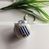 2016 European Cup PVC sports football/soccer keychain, countries flag uruguay keychain /ring