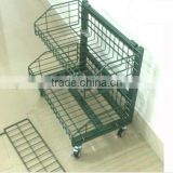 metal supermarket vegetable display rack/fruit rack/steel display rack for promotion retail shop storage