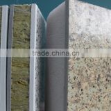 insulated Hydroponic Rock wool composite sandwich panel