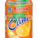 BIDRICO SOFT DRINK ORANGE FLAVOR 33OML