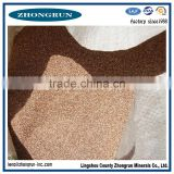factory bulk price gold crude expanded vermiculite