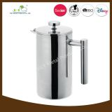 Hot Sale Double Wall Stainless Steel French Press with FDA