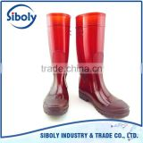 cheap PVC boot gumboots safety work rain boots protective shoes for construction farming mining industry