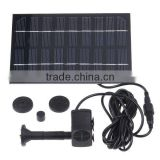 Solar Brushless Water Pump For Pond Rockery Fountain