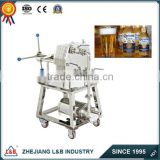Model WBG-100 stainless steel beer filter press