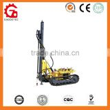 high performance open-air drill-pneumatic&Hydraulic depth 20m mine and rock crawler drilling machine