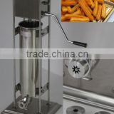 manual stainless steel small churros machine for small business