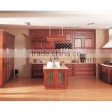 Traditional Style Solid Wood American Maple Kitchen Cabinet/Customized Classic Kitchen Furniture