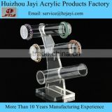 Hot sale Acrylic display tube, wholesale bracelet display, Alibaba high quality acrylic bracelet display tube