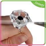 Professional Eyelash Crystal Glue Ring Grafting Eyelash Pallet Holder Glue Ring
