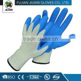 JX68F632 Factory Made Wholesale Safety Latex Glove Printed Logo