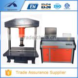 CTM-600MC BS EN124 Standard Hydraulic Servo System Computer Controlled Manhole Cover Compression Testing Machine