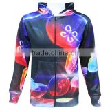Custom men gym top wear sublimated hoodie slim fit fitness hoodie