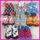 rubber sole baby sock shoes high quality top sale latest design kids rubber shoes slippers