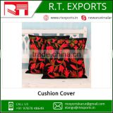 Wholesale 100% Cotton Printing Cushion Covers With Custom Logo