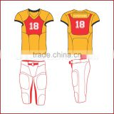 Focus Series American Football Uniform XHD Pro 882 Model with free shorts and player names